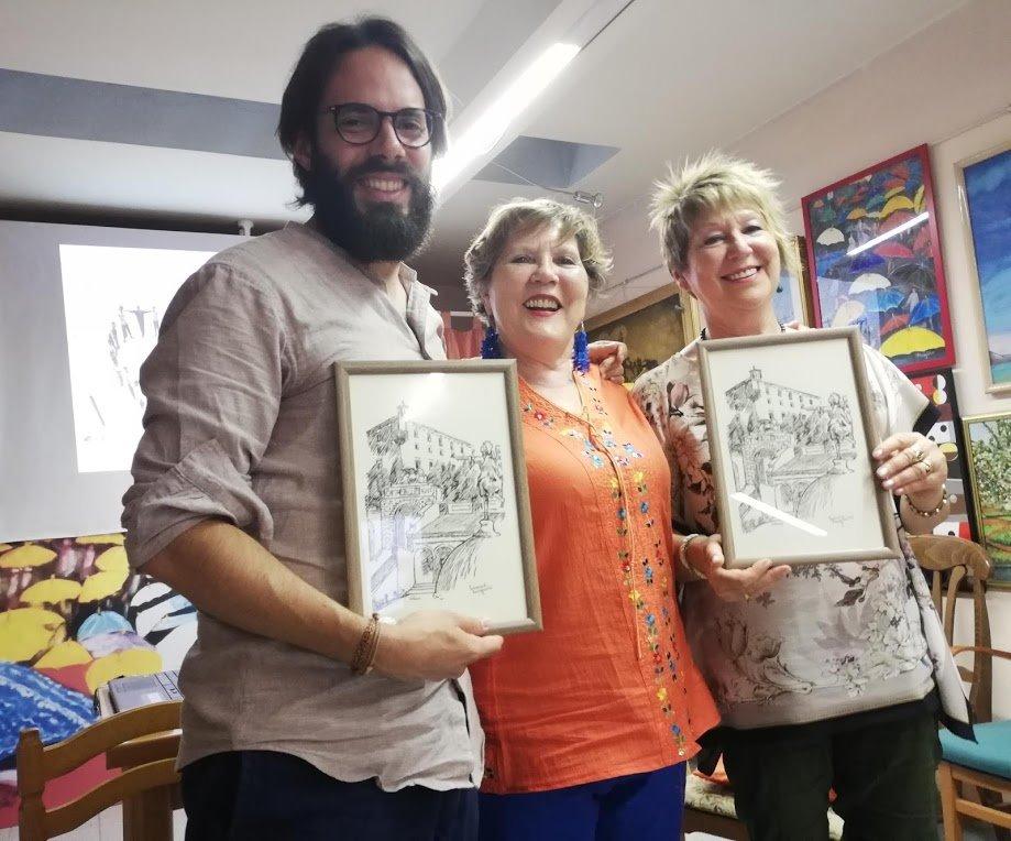 Con Alberto Cancian e Francesca Rodighiero  22 giu 2019