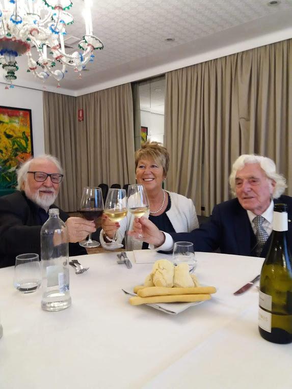 Con Gustavo Zanin e Giorgio Celiberti  2 ott 2019