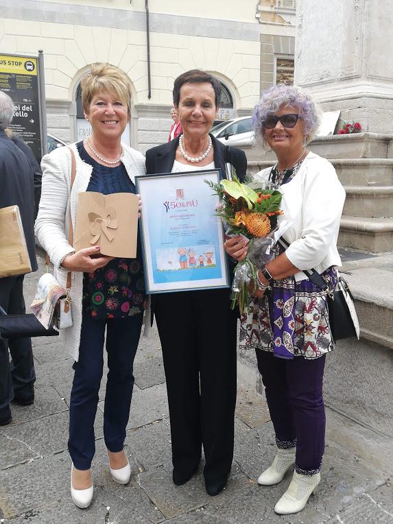 con daria Bon e Renata Clocchiatti  2 ott 2019
