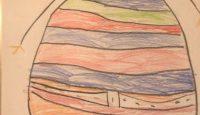 Disegno di Angelica Vidussi, 5 anni