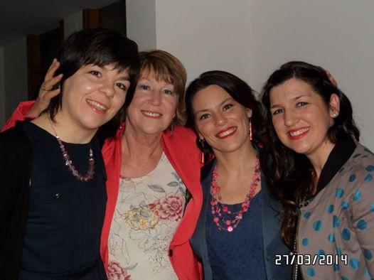 con Giada, Elisa, Vanessa  27 mag 2014