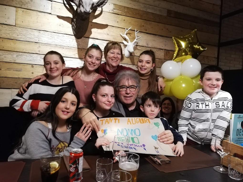 24 febbraio 2020 – con tutti i  nipoti