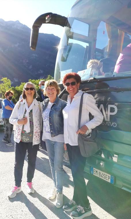 con Patrizia e Donatella: x Lago di Braies 12 luglio 2020