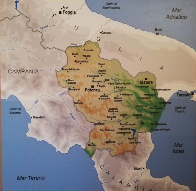 Basilicata: regione dell'oro e della Magna Grecia                               18-25 luglio 2020