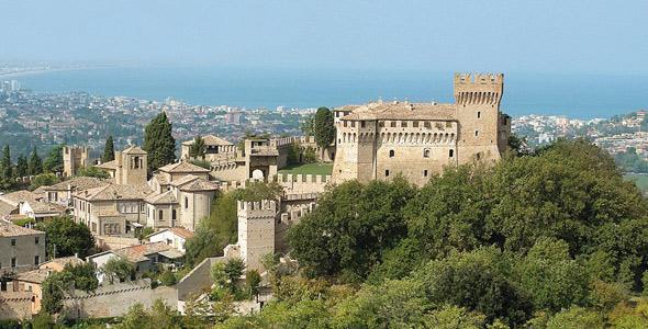 Marche/E.Romagna – Tra i Borghi più belli d'Italia: Gradara, Brisighella, Dozza