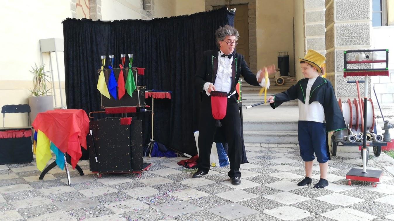 Mago Lenard a Villa Manin – Passariano (Ud)  In un giorno di festa                                 20 settembre 2020