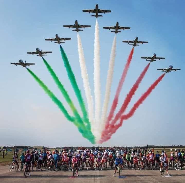 103° GIRO D'ITALIAda Base aerea di Rivolto a Codroipo (Ud)                 18 ottobre 2020