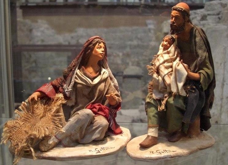 Natale 2020:  Monselice (Pd)                       Riccardo Ghidotti e la collezione di presepi dal mondo