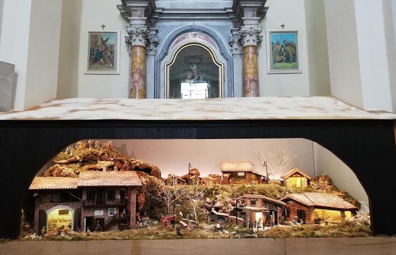 Zompicchia di Codroipo (Ud)    In chiesa, un presepio a regola d'arte                                        1 gennaio 2021