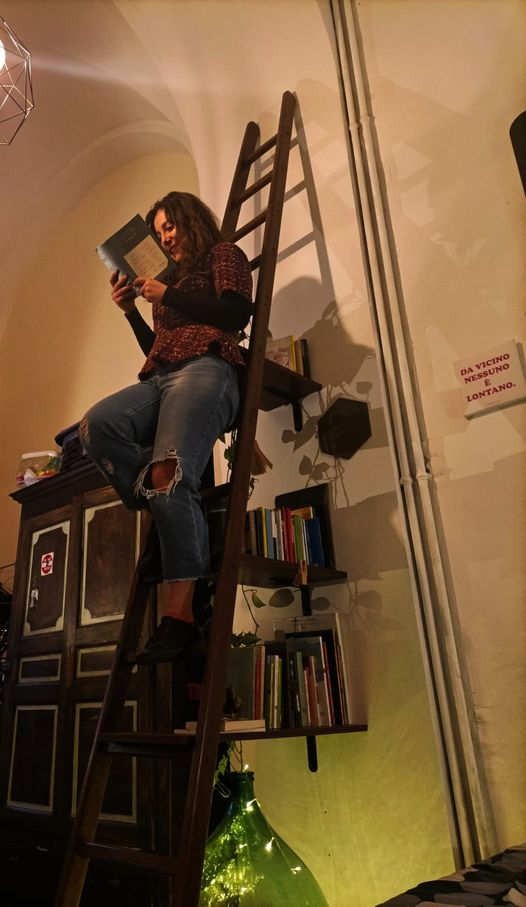 "Natalie Sclippa, friulana,  racconta del libro ""La Ruota"""