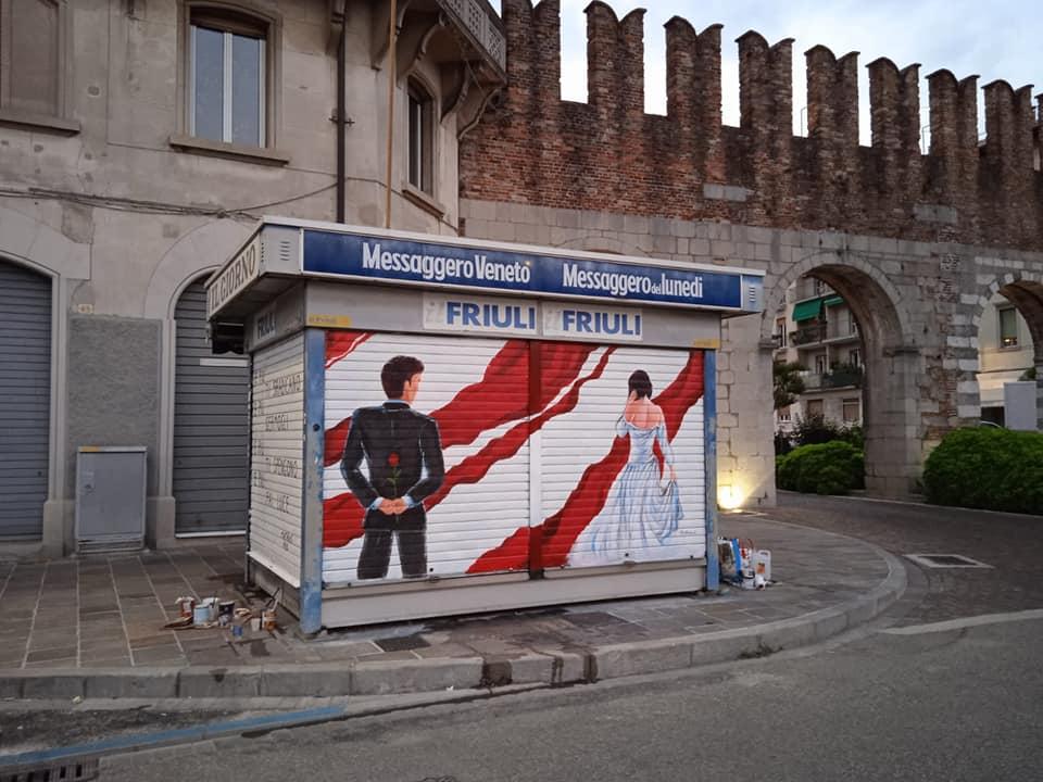 Street-art a Udine      16 giugno 21
