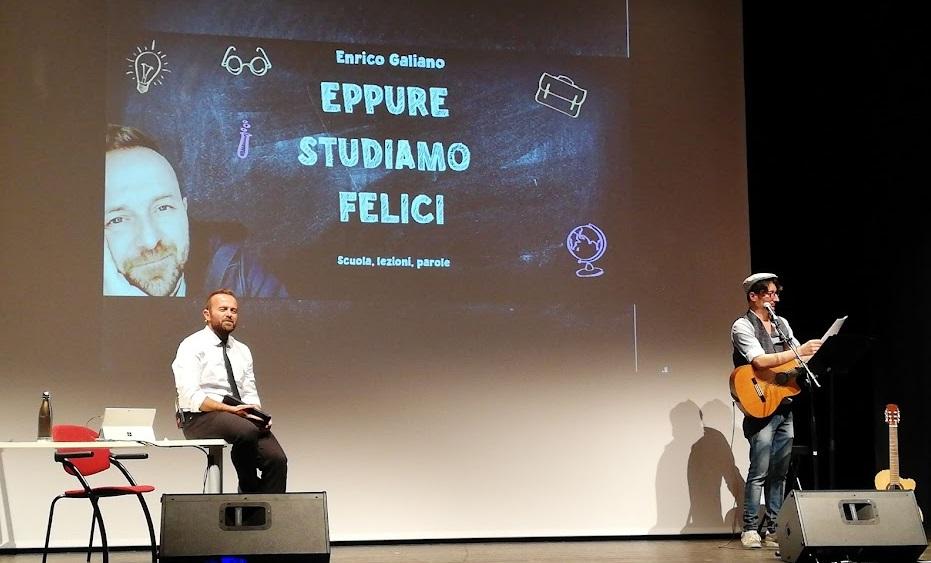 """Enrico Galiano  """"Eppure studiamo felici""""-  Sedegliano (Ud)"""